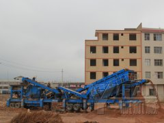 Construction Waste Recycling Plant in Yunnan