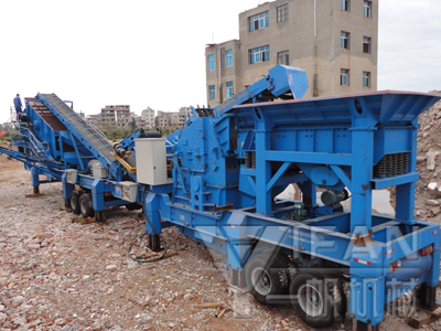 Mobile Crusher for construction waste recycling to Henan