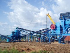 Popular aggregate production line in Nigeria