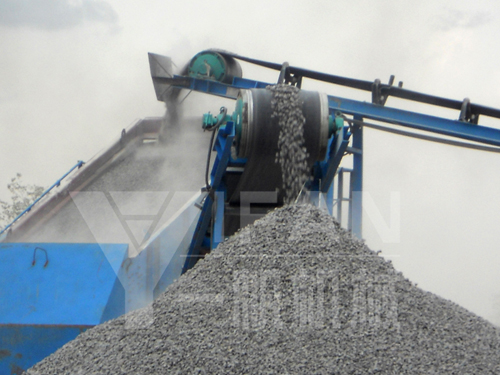 granite crushing plant