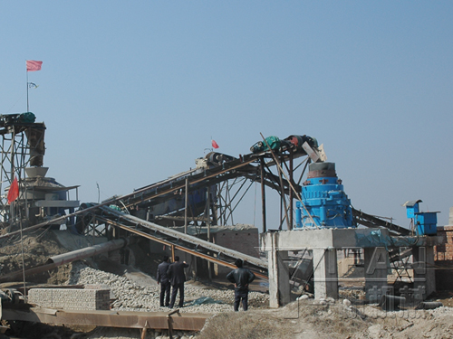pebbles sand production line