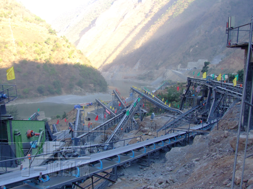 Sand Production Line in Sichuan