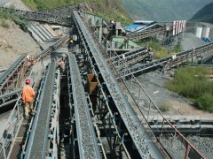 200t/h stone crushing plant in yunnan