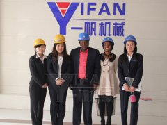 YIFAN cooperates with South Africa customers