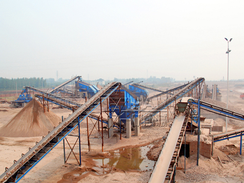River pebble sand production line in Xingtai