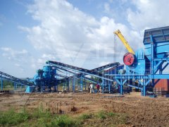 200t/h Sand Making Plant in Nigeria