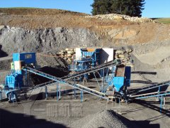 Stone Crushing Plant in New Zealand