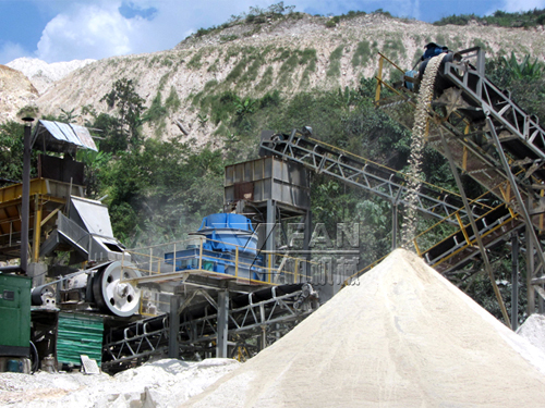 Sand Production Line in Malaysia